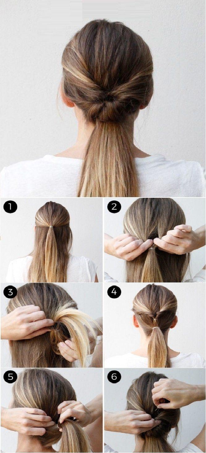 15 Ways To Make A Stylish Helmet Friendly Hairstyle Twist Ponytail Hair Braid Videos Hair Styles