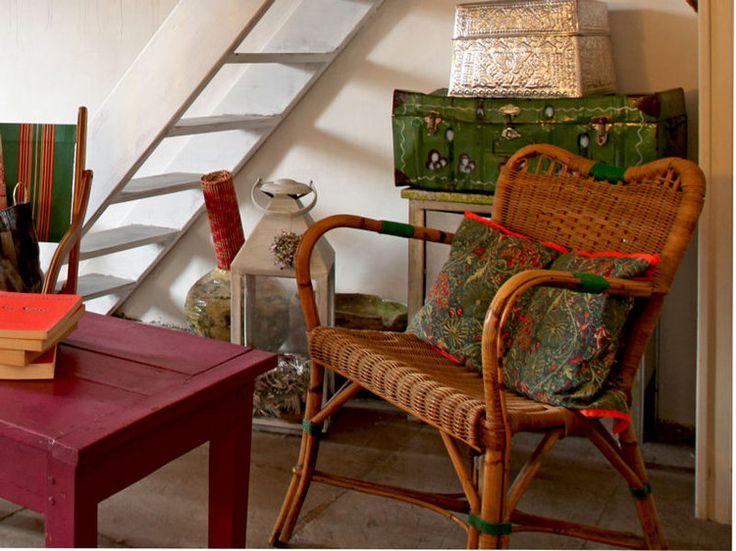 le rotin et l 39 osier pour une d co naturelle le rotin osier et tables anciennes. Black Bedroom Furniture Sets. Home Design Ideas