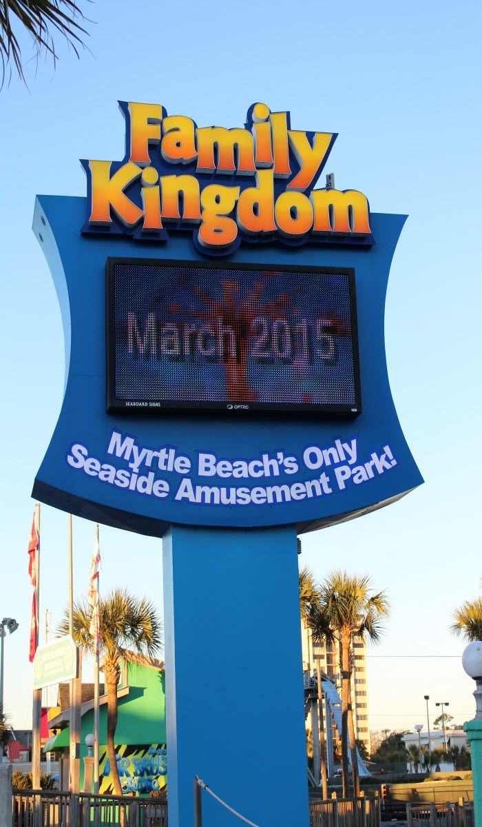 Spring Is Right Around The Corner And Family Kingdom Amut Park In Myrtle Beach South