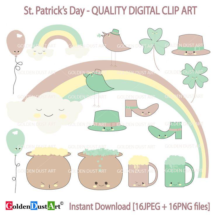 St Patricks Clipart, St Patricks Clip Art, St Patricks Day, Shamrock Clipart, Shamrock Clip Art, Leprechaun Clipart by GoldenDustArt on Etsy https://www.etsy.com/listing/265380051/st-patricks-clipart-st-patricks-clip-art