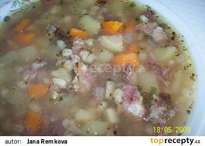 Kroupová polévka od Babici recept - TopRecepty.cz