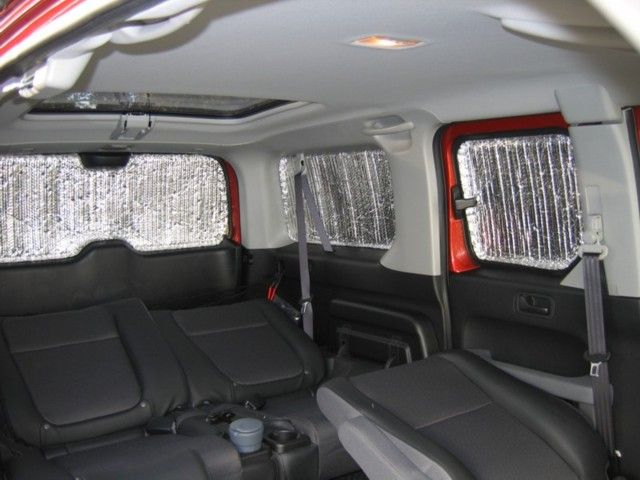 Forget the curtain, make privacy panels! - Page 3 - Honda Element Owners Club Forum