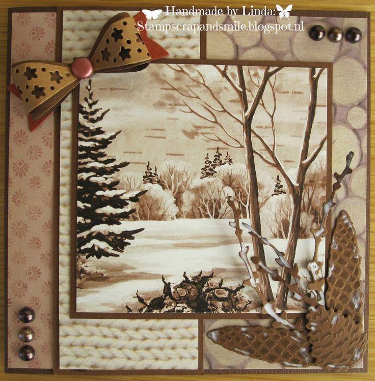 StampScrapandSmile: Kerst in monochrome tinten