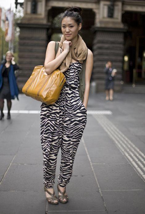 The 72 best jumpsuits is love images on pinterest woman fashion zebra print jumpuit fandeluxe Images