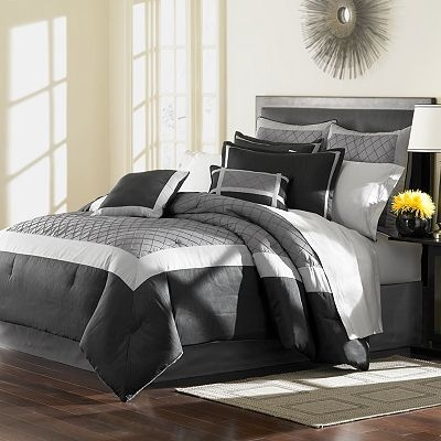 Enjoy free shipping and easy returns every day at Kohl s  Find great deals  on Home Classics at Kohl s today  Home Classics Kentfield Tufted Comforter  Set. 17 Best images about Bedroom with Black   Gray spread on Pinterest