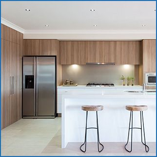 Wallspan Kitchen & Wardrobes are experts in kitchen installations and renovations. Contact the expert team for more info about your potential kitchen designs.