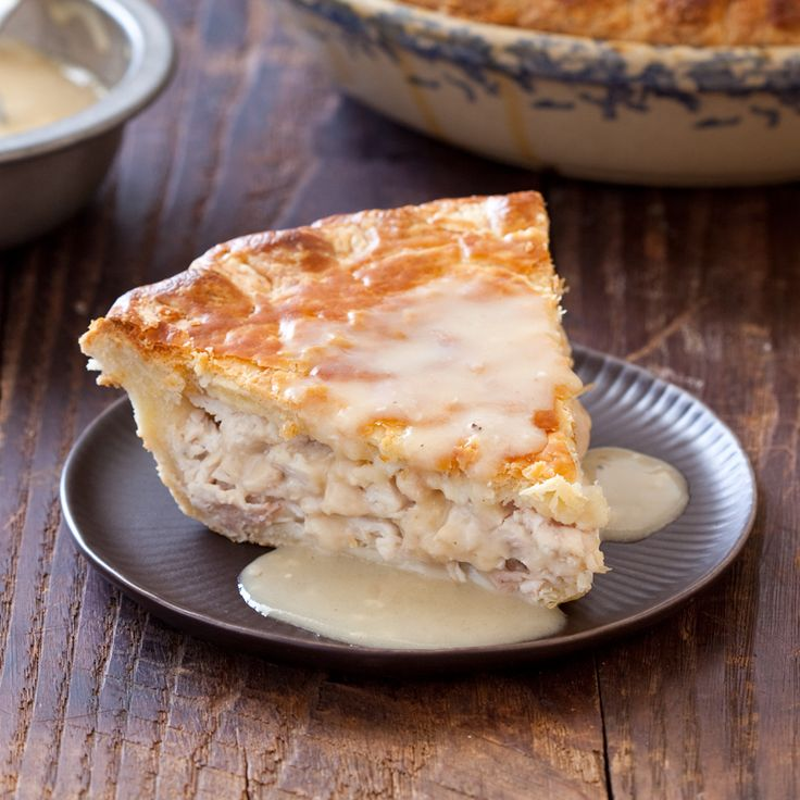 Moravian Chicken Pie Recipe - this looks unbelievably good.  Can't wait until fall to try it!