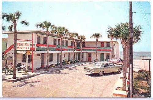 Waters Edge Motel. Panama City Beach, Florida. by stevesobczuk, via Flickr