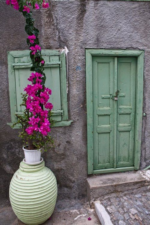 A Door,  Ano Syros, Greece