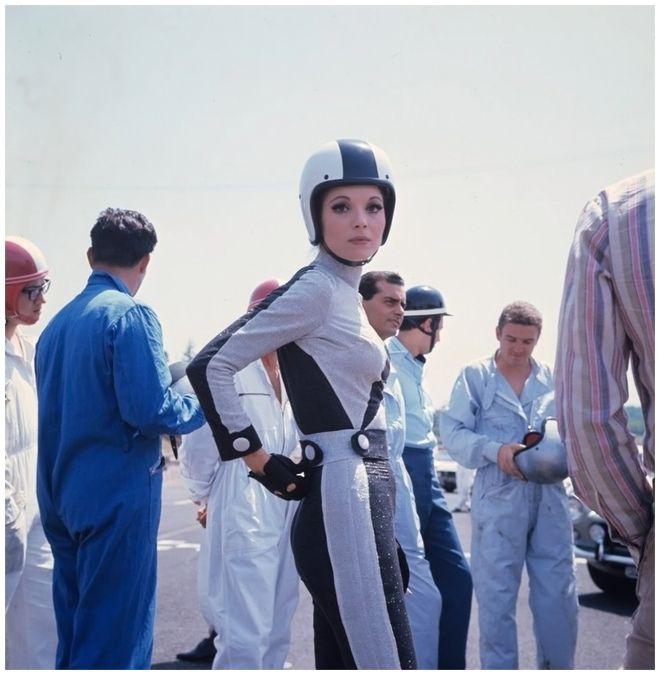 Elsa Martinelli in AutoDrome in Rome 1967_2