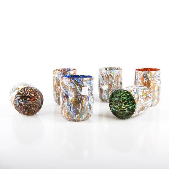 Murano Glass tumblers Trademark of Origin - Etsy, by YourMurano on Etsy, €410.00