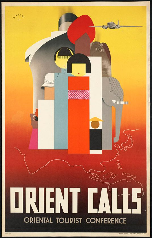 Travel posters Orient