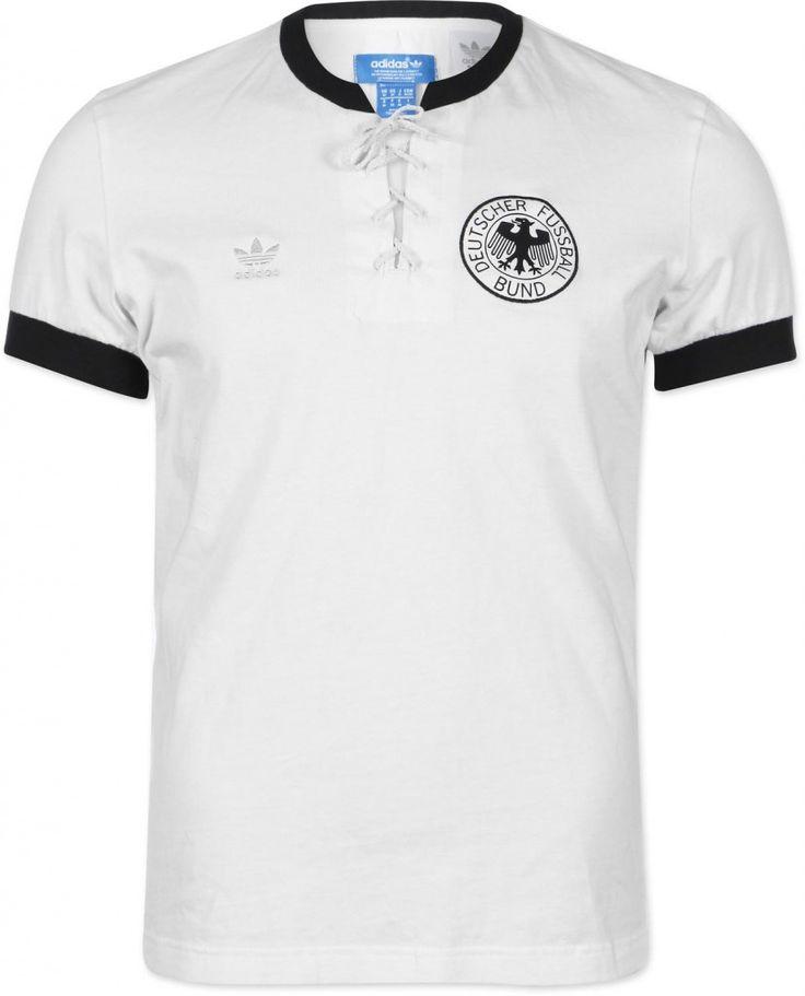 Camisa retrô da Alemanha em 1954 (Adidas)