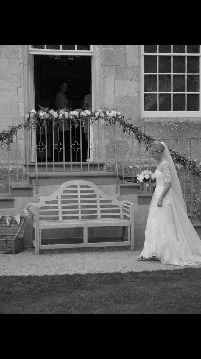 Photos just in of Sarah's Wedding dress #lace @bridal_fabrics #handbeaded #tulle #silk #veil #skirt #dressmaker