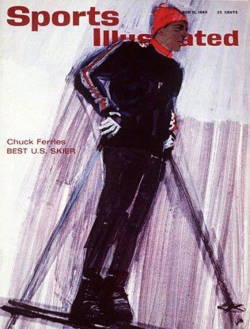 Bernie-Fuchs-Sports-Illustrated-Ski-cover