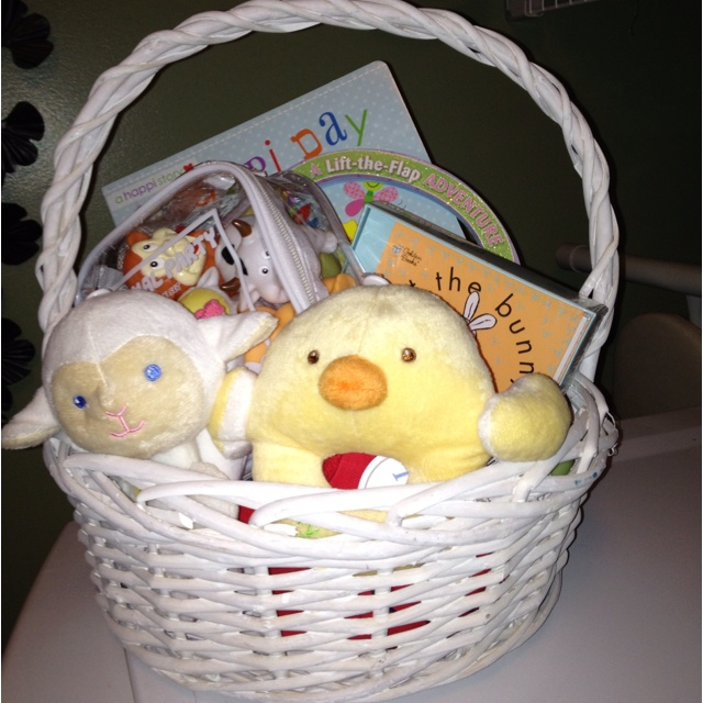 60 best brinkleys first easter images on pinterest easter babies first easter basket books rattles onsies bath toys negle Choice Image