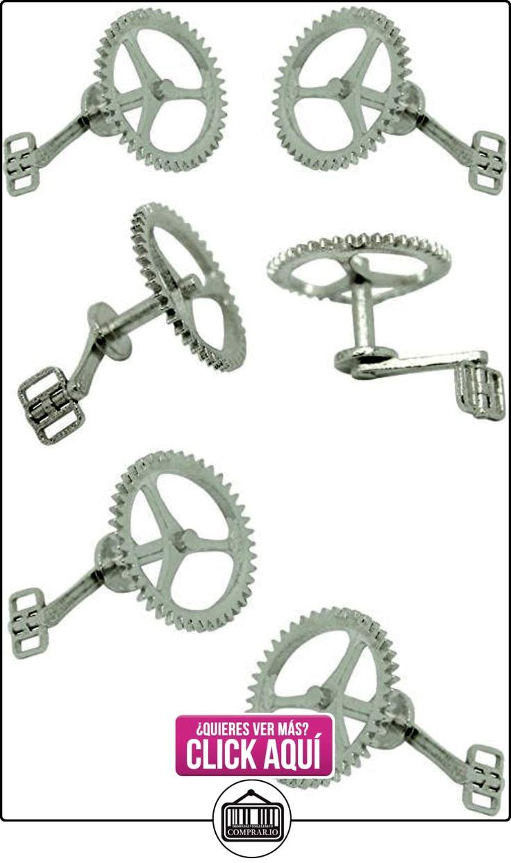 MasGemelos - Gemelos Piñon y Pedal Bicicleta Cufflinks  ✿ Joyas para niños - Regalos ✿ ▬► Ver oferta: https://comprar.io/goto/B01FPXL4UG
