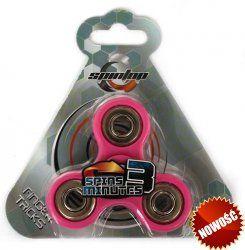 Spintop – Fidget Spinner 180 sek. Różowy #FidgetSpinner: zabawka, którą pokochały miliony :)
