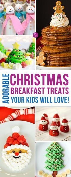 Oh my goodness! These Christmas breakfast treats are ADORABLE! My kiddos are going to LOVE them! Thanks for pinning!