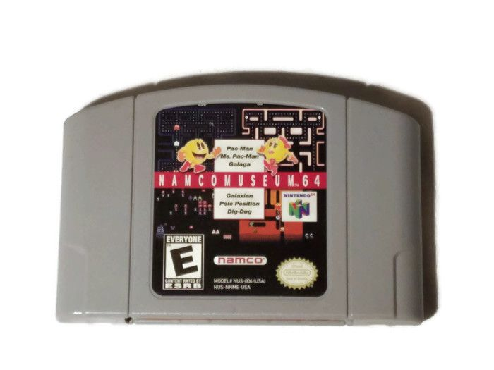 Namco Museum 64 (Nintendo 64) #n64 #nintendo #arcade #pacman