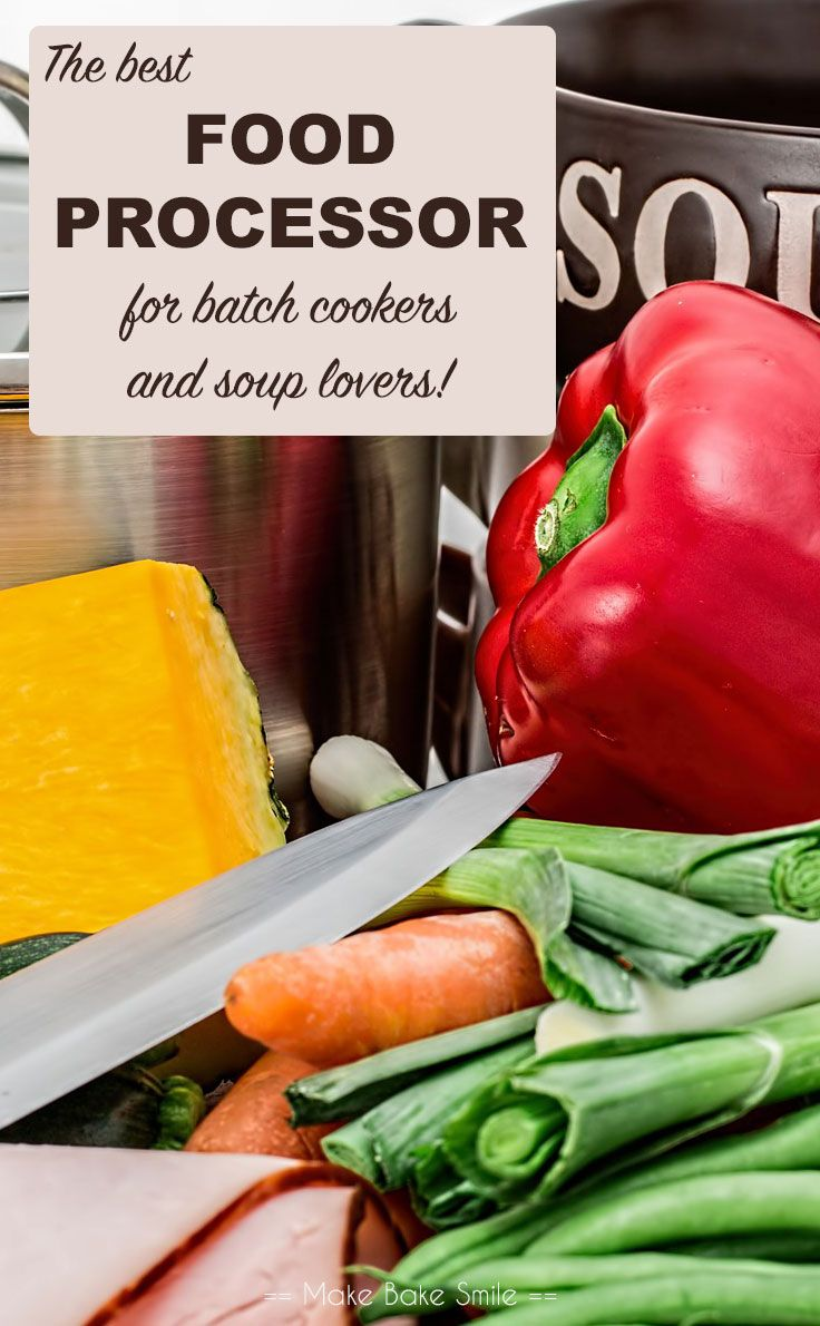 We've found the best food processor for batch cookers and soup lovers - and you will be surprised by the price!
