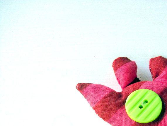 Ottavio il topo  portachiavi in stoffa  pezzo unico di fattidame, €8.00