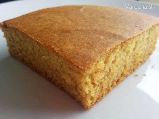Sladký kukuričný chlebík ako z IKEA (variant bez vajec aj s vajíčkom)