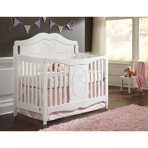 Storkcraft Princess 4 In 1 Convertible Crib White Walmart The O Jays And Baby Girls