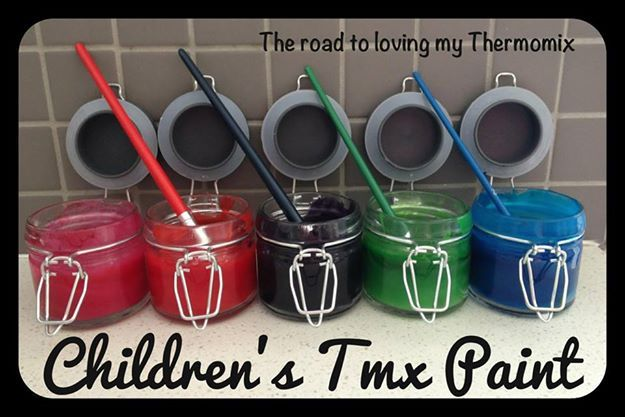 Why buy paint when you can easily make non toxic paint at home!