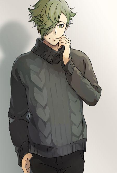 【刀剣乱舞】セーターを着る鶯丸【とある審神者】 : とうらぶ速報~刀剣乱舞まとめブログ~
