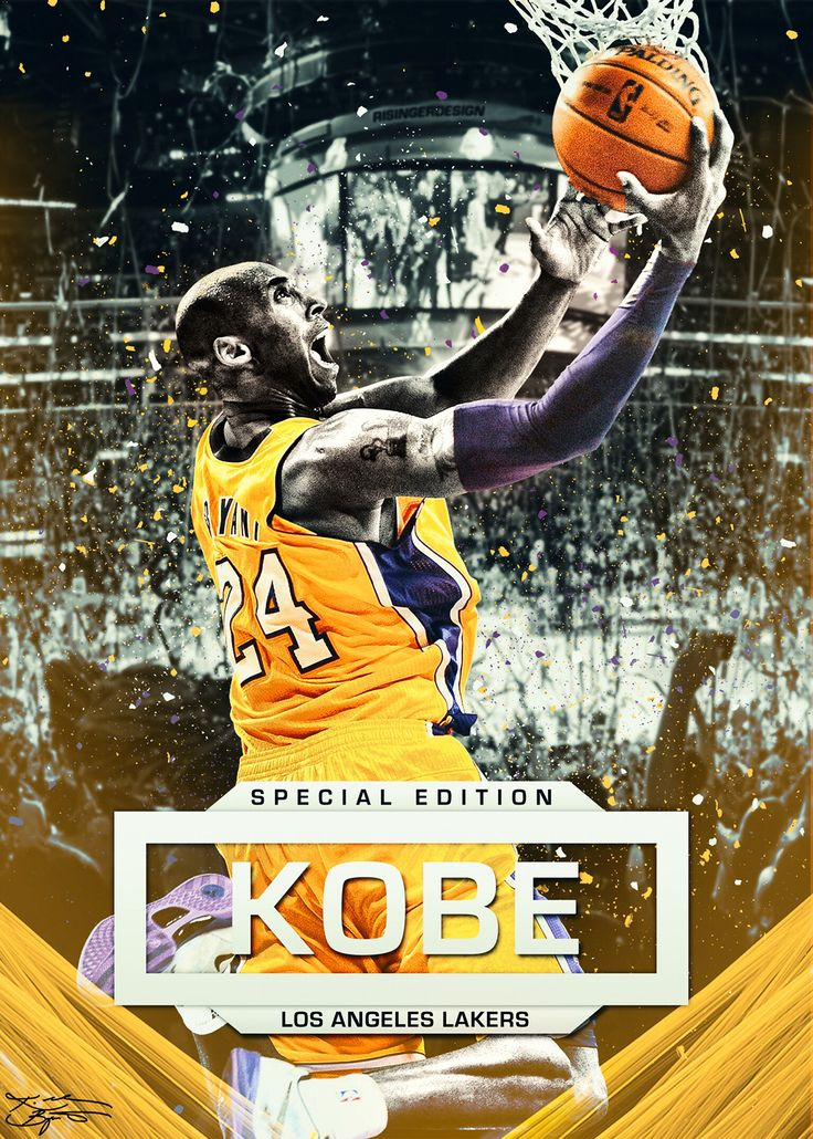 Kobe Bryant Card on Behance