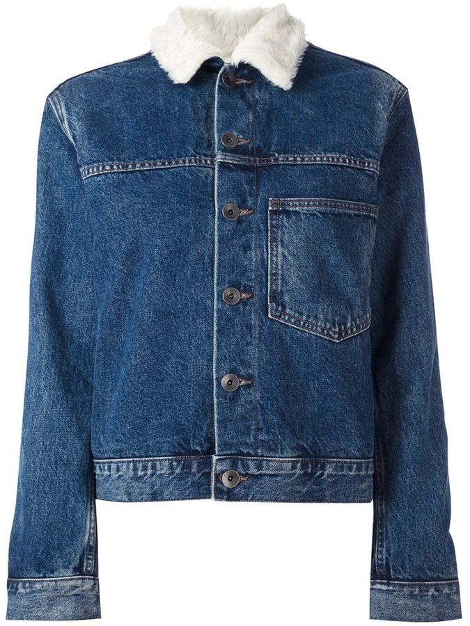 Helmut Lang chest pocket denim jacket