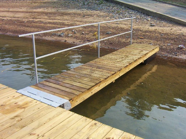 Diy Boat Dock Ramp Kit Floating Or Fixed Boats Boat