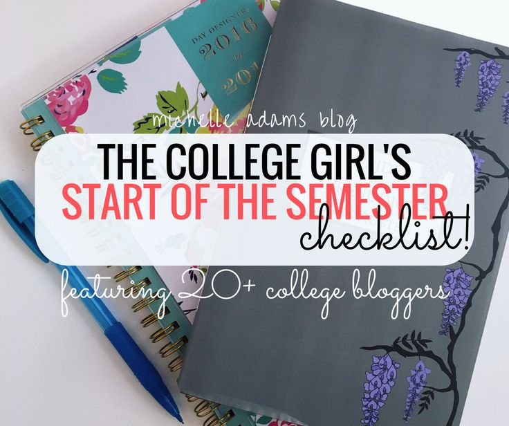 The semester is beginning yet again, ladies, and it's never too late (or too early) to prepare—with the help of the very best college bloggers on the web.