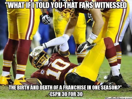 Washington Redskins | NFL Memes, Sports Memes, Funny Memes, Football Memes, NFL Humor, Funny Sports