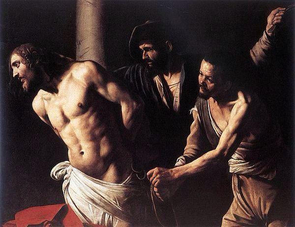 Cristo en la columna  Caravaggio 1607