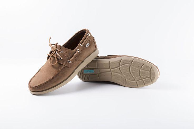 Alex®-Zapato Nautico Hombre Todo en Piel con Suela Goma Super Cómoda y Flexible