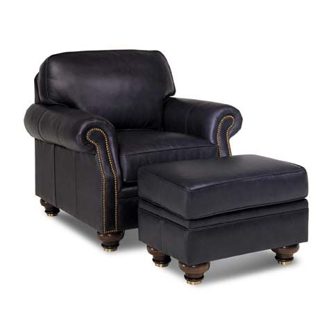Best Traditional Navy Blue Leather Chair In An Aniline Plus Leather From Europe Super Soft And Easy 400 x 300