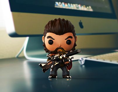 """Check out new work on my @Behance portfolio: """"Graves( League of Legends) Funko pop Style"""" http://on.be.net/1B22IZa"""