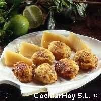 Receta de cocina de albóndigas de rape. Las mejores y más variadas recetas de cocina en Plusesmas.com