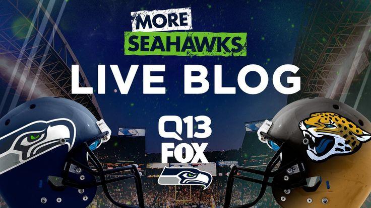 LIVE UPDATES: Seattle Seahawks at Jacksonville Jaguars – Q13 FOX News