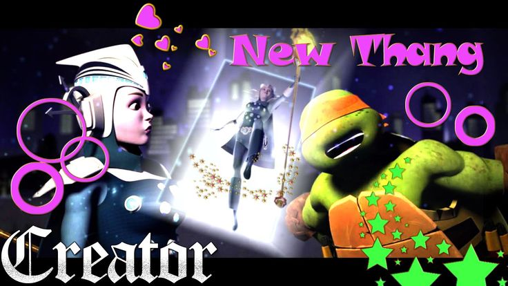 Mikey gets a New Thang is Renet ♥ TMNT 2012 ♫