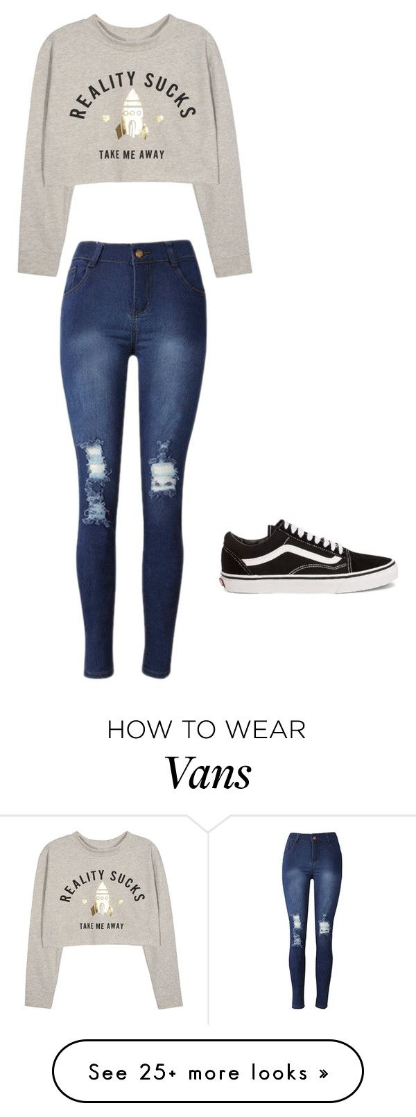 """#takemeaway"" by polyvorelover2233 on Polyvore featuring Vans"