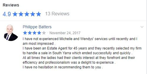 I have not experienced Michelle and Wendys' services until recently and I am most impressed. I have been an Estate Agent for 45 years and they recently selected my firm to handle a sale in South Yarra which ended successfully and quickly. At all times the ladies had their clients interest at they forefront and their efficiency and professionalism was a delight to experience. I have no hesitation in recommending them to you. Philippe Batters #wemakeiteasy #Amalain #melbre