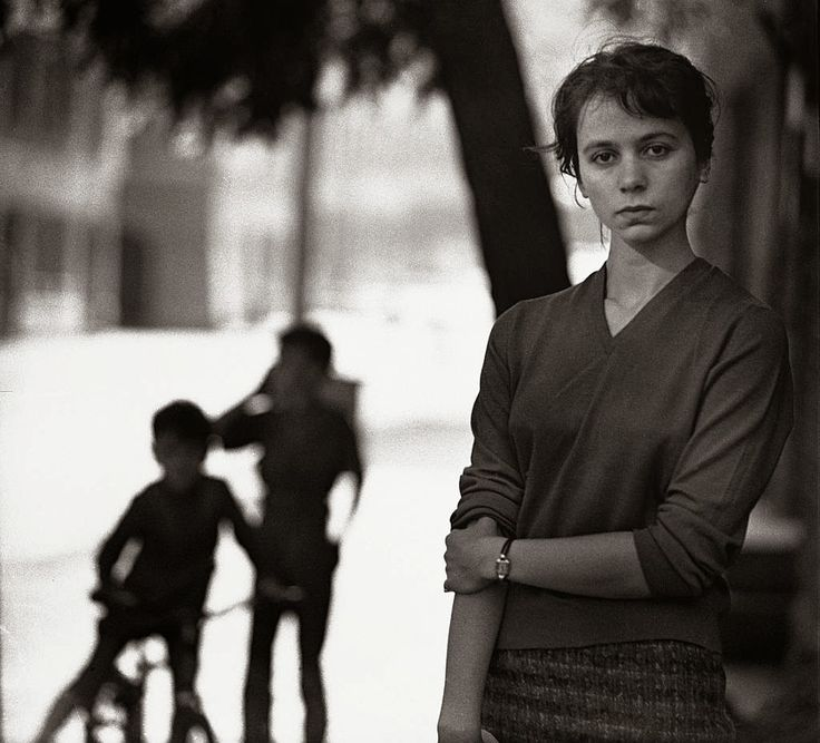 Barbara Hoff, 1957r. fot. Wojciech Plewiński