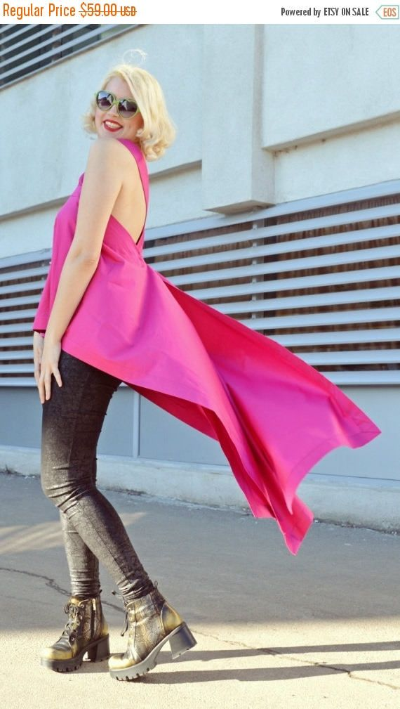 Just in: SALE Funky Pink Top / Asymmetrical Pink Top / Street Style Top / Urban Pink Top / Cotton Pink Top TT77 / SUMMER 2016 https://www.etsy.com/listing/268719053/sale-funky-pink-top-asymmetrical-pink?utm_campaign=crowdfire&utm_content=crowdfire&utm_medium=social&utm_source=pinterest