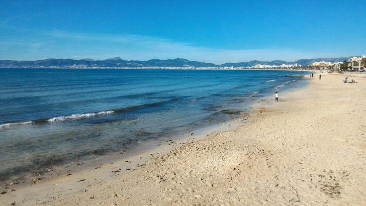 Playa de Palma - December / Winter. Mallorca, Spain.  #Mallorca #Spain #Spanien #Beach #Strand #Playa #Palma #Winter #wintertime