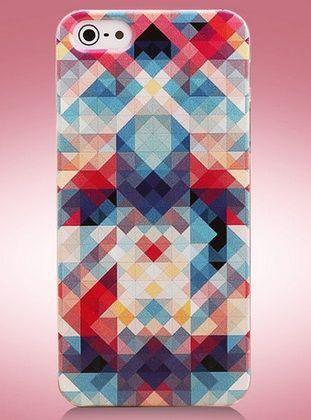 Colourful Θήκη Πολύχρωμη Deluxe Pixels (iPhone 5/5s) - myThiki.gr - Θήκες Κινητών-Αξεσουάρ για Smartphones και Tablets - Colourful Pixels