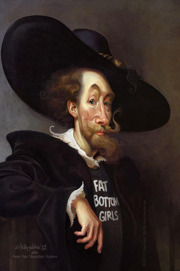 Peter Paul 'bootyboy' Rubens by Loopydave.deviantart.com