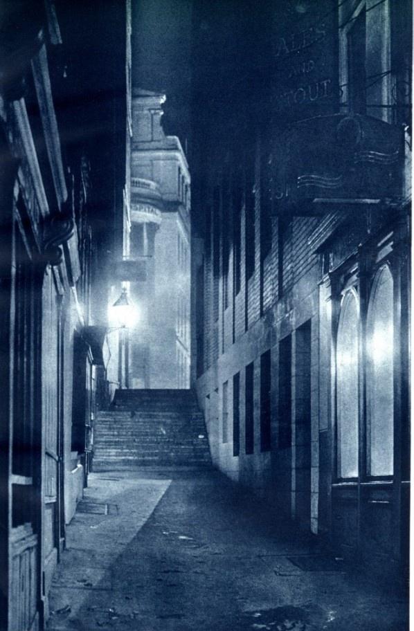 "1934 Images from ""London Night"" – John Morrison and Harold Burkedin"